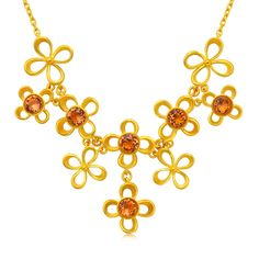 Singapore Necklace  916 pure gold