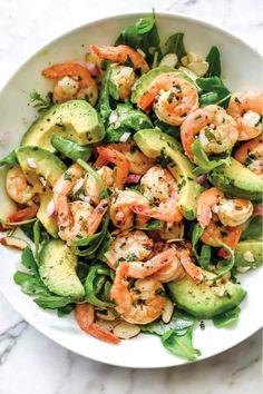Summer Salad Recipes, Avocado Recipes, Spring Recipes, Summer Salads, Healthy Recipes, Healthy Dinners, Dinner Healthy, Keto Dinner, Cooking Recipes