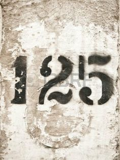 Plot number stencil on shed Cool Numbers, Letters And Numbers, Free Astrology Software, What's Your Number, Number Stencils, Vintage Numbers, Old Signs, Vintage Labels, Numerology