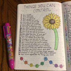 Bullet Journal Notebook, Bullet Journal Ideas Pages, Bullet Journal Inspiration, Journal Prompts, Journal Pages, Bullet Journals, Bullet Journal Anxiety, Self Care Bullet Journal, Smash Book Inspiration