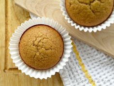 GF Vanilla-Cinnamon Muffins