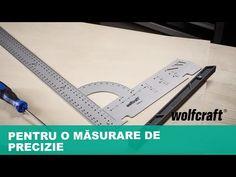 Unealta perfectă pentru măsurare, trasare și măsurarea unghiurilor | wolfcraft - YouTube Straightener, Youtube, Instagram, Youtubers, Youtube Movies