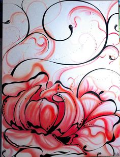 Nature and flowers Airbrush Painting, Painting Art, Vancouver Island, Swirls, Magnolia, Abstract, Gallery, Artist, Nature