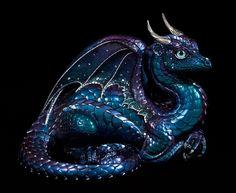 "Windstone Editions ""Cosmic Shift 1"" Lap Dragon Figurine Fantasy Animal Statue | eBay"