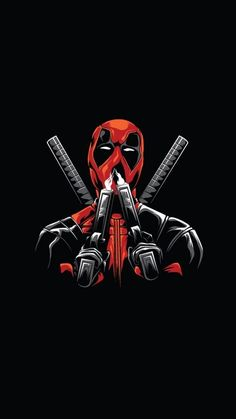 Deadpool Tattoo, Deadpool Art, Deadpool Funny, Logo Deadpool, Deadpool Costume, Deadpool Movie, Ps Wallpaper, Watercolor Wallpaper Iphone, Graffiti Wallpaper
