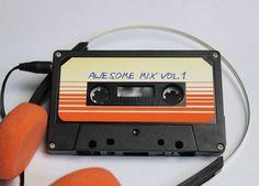 Tutorial genial para hacerte un mp3 en una cinta de cassette inspirado en Guardianes de la Galaxia ^_^