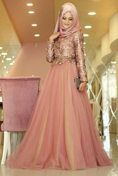 Gamze Polat 2016 evening dresses models and new season hijab evening dresses models with pictures … – Tesettür Islamic Fashion, Muslim Fashion, Hijab Fashion, Modest Fashion, Fashion Dresses, Hijabi Gowns, Hijab Abaya, Hijab Evening Dress, Evening Dresses