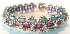 Czechmates Brick Bracelet Class Jewelry Making Classes, Brick, Beaded Bracelets, Fashion, Moda, Fashion Styles, Pearl Bracelets, Bricks, Fashion Illustrations