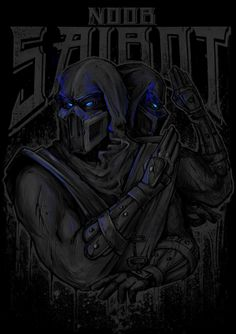 Mortal Kombat Fighters by Ottyag, via Behance