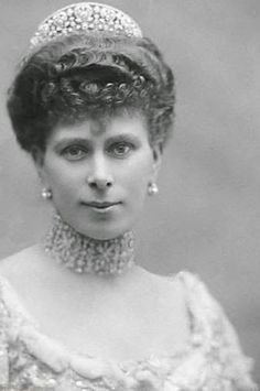 Saturday Sparkler: The Iveagh Tiara | I believe this is Queen Mary the present Queen Elizabeth II's grandmother.