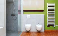 muurbekleding in de badkamer: verf
