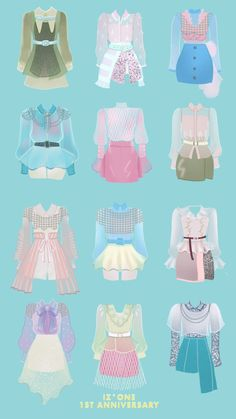 Kpop Fashion Outfits, Anime Outfits, Korean Outfits, Stage Outfits, Girl Outfits, Fashion Design Drawings, Fashion Sketches, Kpop Mode, Dress Design Drawing
