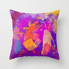 Funky Party Throw Pillow