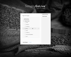 Admin Panel - Page Manager Full