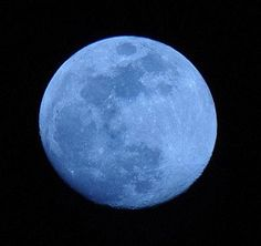 A seasonal Blue Moon - the third of the season's four full moons - lights up the night of August 20-21, 2013