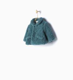 3/4 length fleece coat - Collection - Mini - COLLECTION AW15 | ZARA Serbia