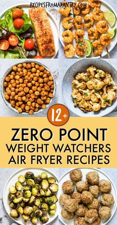 All of the weight watchers air fryer recipes included here are quick and SO easy. - All of the weight watchers air fryer recipes included here are quick and SO easy to make, and even - Air Fryer Recipes Weight Watchers, Plats Weight Watchers, Weight Watchers Meals, Weight Watchers Vegetarian, Vegetarian Food, Weight Watchers Reviews, Weight Watchers Sides, Air Fryer Oven Recipes, Air Frier Recipes