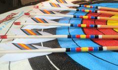 Archery arrows Port Orford cedar arrows Target by PodunkHollow