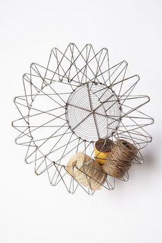 Handcrafted Accordion Basket - anthropologie.com