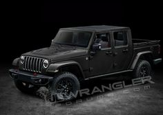 A Wrangler pickup is on its way in and it's high on our list of cars we can't wait to drive. We rounded up everything we think we know about the new Jeep Wrangler Pickup, the Scrambler. Jeep Wrangler Colors, Jeep Wrangler Pickup, Jeep Pickup, Jeep Rubicon, Jeep Wrangler Unlimited, Jeep New Car, Jeep Jt, Jeep Truck, Jeep Gear