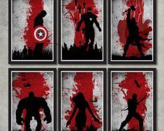 Justice League Poster Set