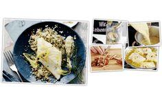 Im EDEKA-Kochstudio gibt es jetzt ein neues Rezept Schritt für Schritt zum Mitkochen: Kabeljaufilet mit Pistazien-Couscous. Gleich reinschauen und mitkochen!