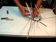 Paper basket weaving video