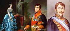 Efemérides de Madrid. 29 de marzo. Isabel II, Fernando VII y Carlos María Isidro de Borbon, Tres maneras muy distintas de entender la corona de España.
