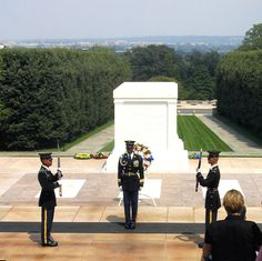 Changing of the Guard - Arlington National Cemetery.  One of the most moving sites to visit.  What dedication and service.