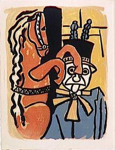 ''Das Album Circus (28)', 1950 von Fernand Leger (1881-1955, France)