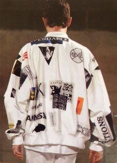 Raf Simons Consumed Collection Spring/Summer 2003.