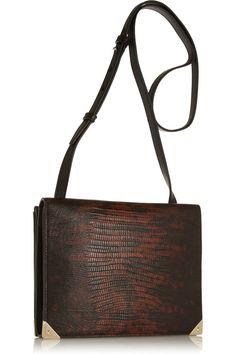 Alexander Wang Prisma leather shoulder bag #Work #THEOUTNET