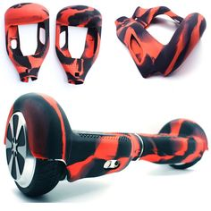 Anti scratch/non slip/wrap/enclosure silicone case cover for inch 2 wheels self balancing Kick scooter hoverboard skateboard Skateboard Price, Kick Scooter, Kicks, Wheels, Free Cover, Free Shipping, Silicone Rubber, Mobiles, Computers