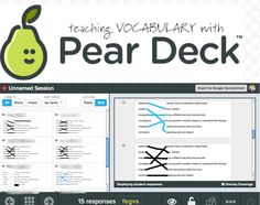 ESL Vocabulary/Interactive Technology Making matching activities online using PearDeck. Used for vocabulary, important persons, concepts--anything! Teaching Vocabulary, Vocabulary Activities, Teaching Tips, Vocabulary Instruction, Teaching Technology, Educational Technology, Technology Tools, Educational Leadership, Teaching Secondary