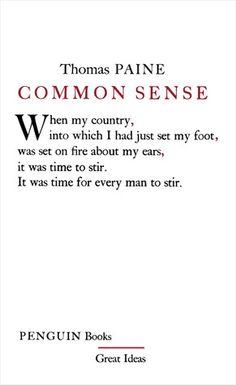 Thomas Paine's Common Sense?