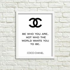 Be who you are not what the #woeld wants you to be. #CocoChanel #beautiful #chic #lifestyle #instafashion #instastyle #instabeauty #bossbabe #motivation #inspiration #instalike #empowerment #fashion #Ambition #successful #instagood #goals #beauty #happy #happiness #girlboss #style #fashion #friday #chanel