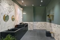 Marazzi's collection of slabs for creating bathrooms and wall coverings with a contemporary, sophisticated design