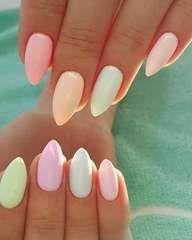 38 summer nail art designs and colors 2019 nails pastel toenail for pedicure Cute Summer Nail Designs, Cute Summer Nails, Summer Toe Nails, Fun Nails, Nail Color Trends, Toe Nail Color, Toe Nail Art, Nail Colors, Nail Art Designs