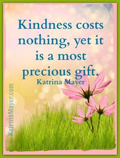Isn't today a great day to spread a bit of kindness? ♥ Free2Luv