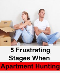 5 Different Stages We Go Through When Hunting for an Apartment Doesn't Go Our Way