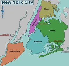 Mapa da cidade de Nova York , via Flickr