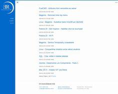 HTML - CSS - Javascript - Jekyll - Desenvolvimento do meu blog pessoal usando ferramenta de geração de conteúdo estático