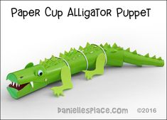 Craft Activities For Kids, Learning Activities, Crafts For Kids, Children Crafts, Pond Crafts, Vbs Crafts, Alligator Crafts, Crocodile Craft, Alligator Birthday