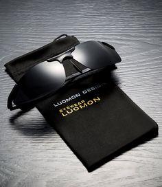 fad629c217ef7c Men Golf Clothing - LUOMON Mens Polarized WrapAround Sport Sunglasses AlMg  Aloy Black Frame Grey Lens Unbreakable Frame LM8179