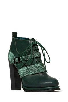 Shoe Cult Snake Charmer Bootie - Shoes | Heels | Shoe Cult