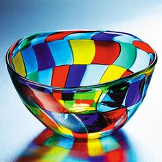 Mosaic Murano Glass Bowl from Italy   www.liberatingdivineconsciousness.com