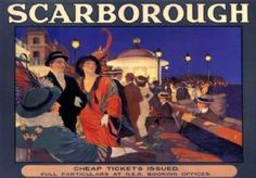 scarborough Tourist poster