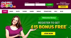 TwitterPlay at Gone Bingo & get 400% bonus on 1st three deposits up to £400. Also, claim £15 free money as a welcome bonus http://www.onlinebingoz.com/reviews/gone-bingo/