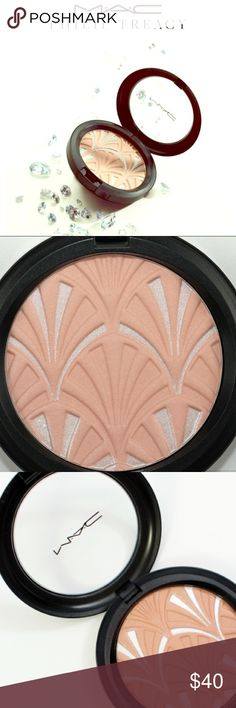 MAC Philip Treacy  Nude Pink highlighting powder MAC Philip Treacy special edition in shade Nude Pink highlighting powder. NWT MAC Cosmetics Makeup Blush