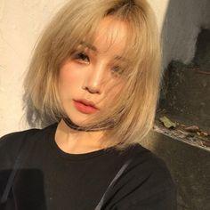 Korean Makeup, Korean Beauty, Asian Beauty, Korean Girl, Asian Girl, Korean Ulzzang, Shot Hair Styles, Uzzlang Girl, My Hairstyle